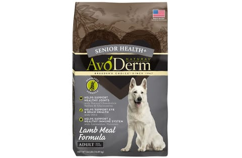 AvoDerm Grain Free Senior Health Plus Dog Food