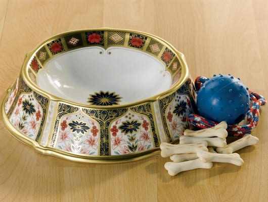 Royal Crown Derby Pet Bowl