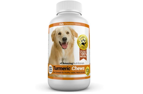 Turmeric Chews by Amazing Nutritionals
