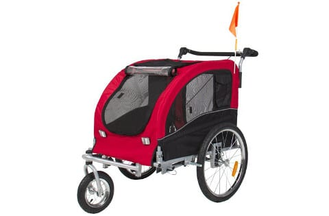 Best Choice Products 2 in 1 Dog Stroller and Bike Trailer