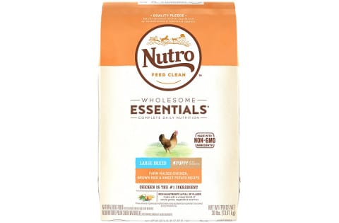 Nutro Wholesome Essentials Large Breed Puppy Dog Food