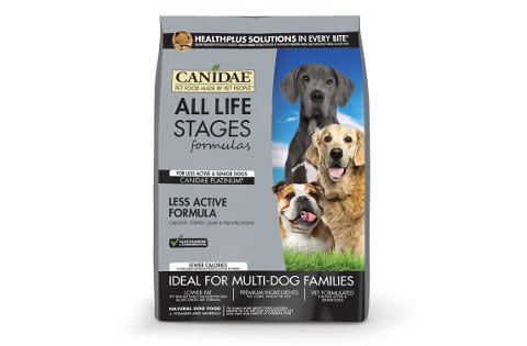 Canidae Platinum for Less Active Senior Dogs
