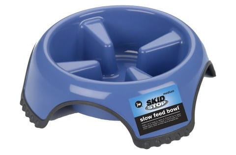 JW Pet SkidStop Slow Feed Bowl