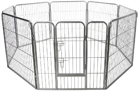 Oxgord Heavy Duty Portable Dog Fence