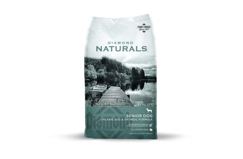 Diamond Naturals Senior Real Meat Formula