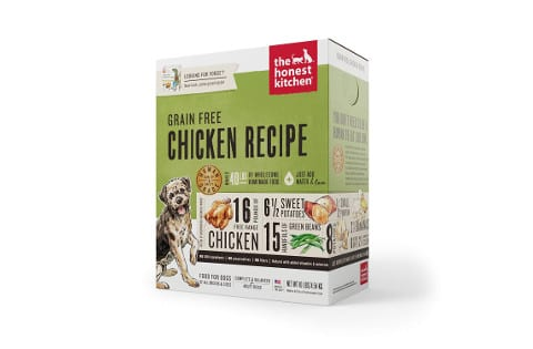 Honest Kitchen Human Grade Dehydrated Grain Free Dog Food