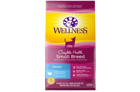 Wellness Complete Health Senior Small Breed Food