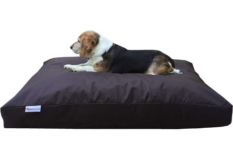 Dogbed4less Memory Foam Chewproof Dog Bed