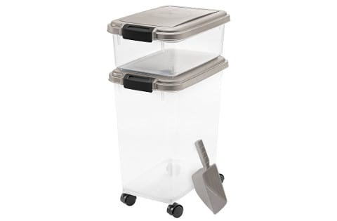 IRIS 3-piece Airtight Dog Food Container Combo
