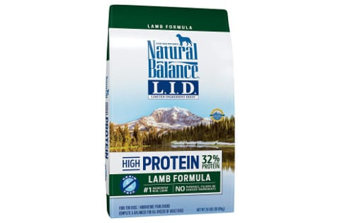 Natural Balance LID High Protein Dog Food
