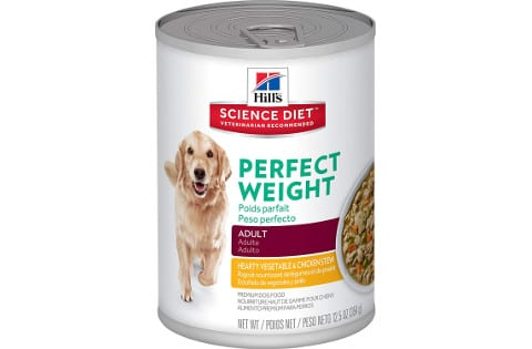 Hill's Science Diet Perfect Weight Canned Dog Food for Adults
