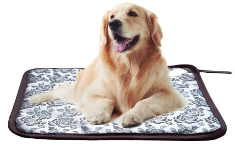 Waterproof electric dog heating pad and bed