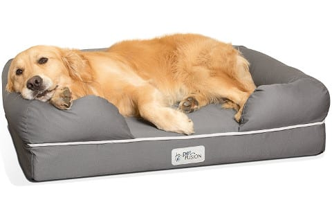 PetFusion Large Waterproof Dog Bed