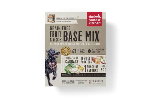 Honest Kitchen Human Grade Fruit and Veggie Base Mix for Dogs