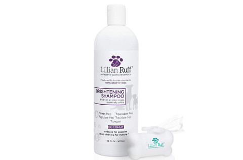 Lillian Ruff Brightening Shampoo for Dogs