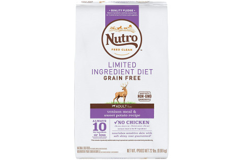 Nutro Limited Ingredient Diet Venison and Sweet Potato Formula