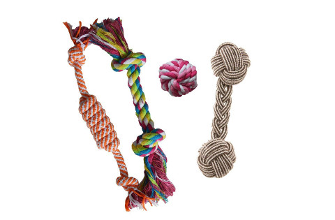 Puppy Teething Chew Rope Toy Set