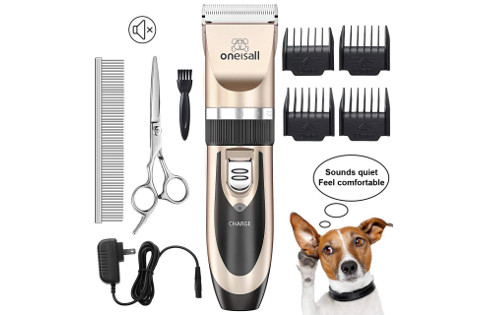 Oneisall Cordless Dog Clipper Set