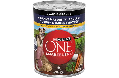 Purina ONE SmartBlend Vibrant Maturity Senior Wet Dog Food