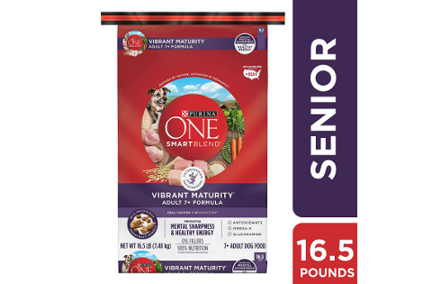 Purina ONE SmartBlend Vibrant Maturity Senior 7+